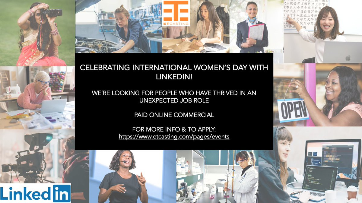 @SistaTalkUK We're helping LinkedIn celebrate International Women's Day & want to hear from people who have thrived in a job role they initially felt under qualified to take on! Link in bio for info & how to apply! #internationalwomensday #commercial #jobsearch #LinkedIn