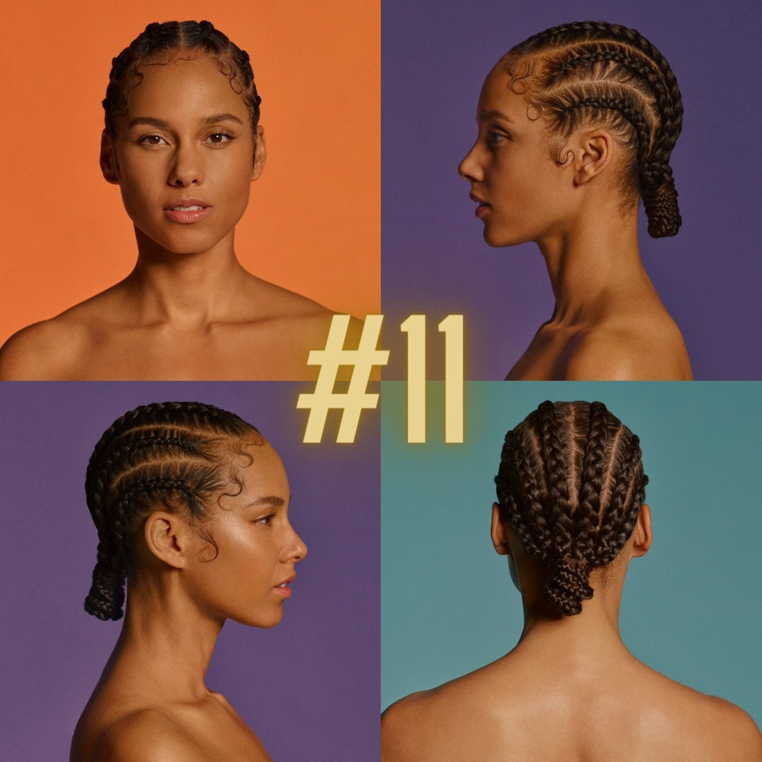 "#11 is the work of another music legend. To learn more from @cates_leah about @aliciakeys' 7th studio album––""ALICIA""––visit . #ALICIA #AlbumsOf2020 #Feminist #Underdog #TruthWithoutLove #ABeautifulNoise"