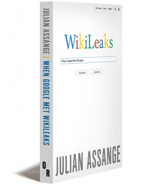 """""""Google's influence on the choices and behavior of the totality of individual human beings translates to real power to influence the course of history"""" Julian Assange #FreeAssangeNOW #DropTheCharges"""