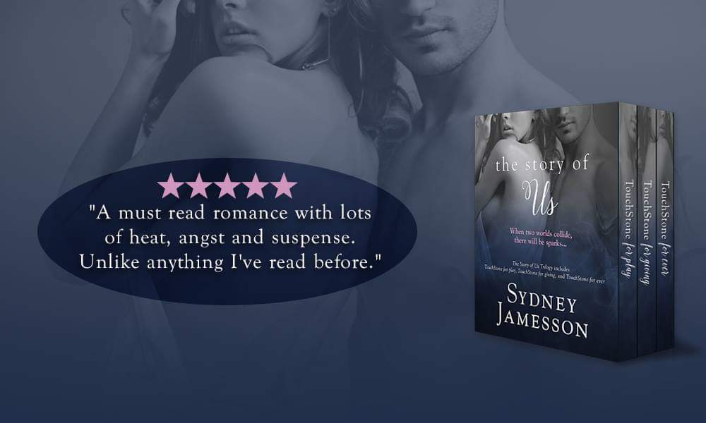 "⭐⭐⭐⭐⭐ ""A must read #romance with lots of #heat, #angst and #suspense. Unlike anything I've read before.""  #TheStoryOfUsTrilogy by @SydneyJamesson #FREE on #KU #BoxedSet >>   #romance #suspense #5star #USATodayBestseller #BritishBookBoyfriend #lovestory"