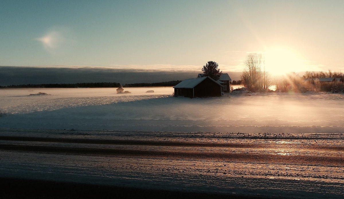 Winter landscape ☀️