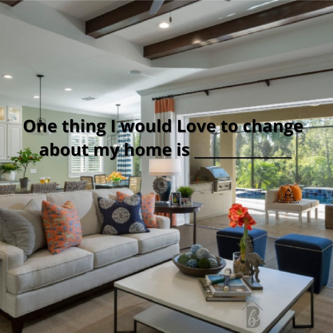 Even if you love your home, I'm sure there is something you would like change about it. Cabinet colors, fixture upgrades, dreamy boho backyard oasis? What would you change? #bethbeckert #house #dreamhome #2021 #themoreyouknow #newyork #newjersey #philadelphia #ohio #michigan