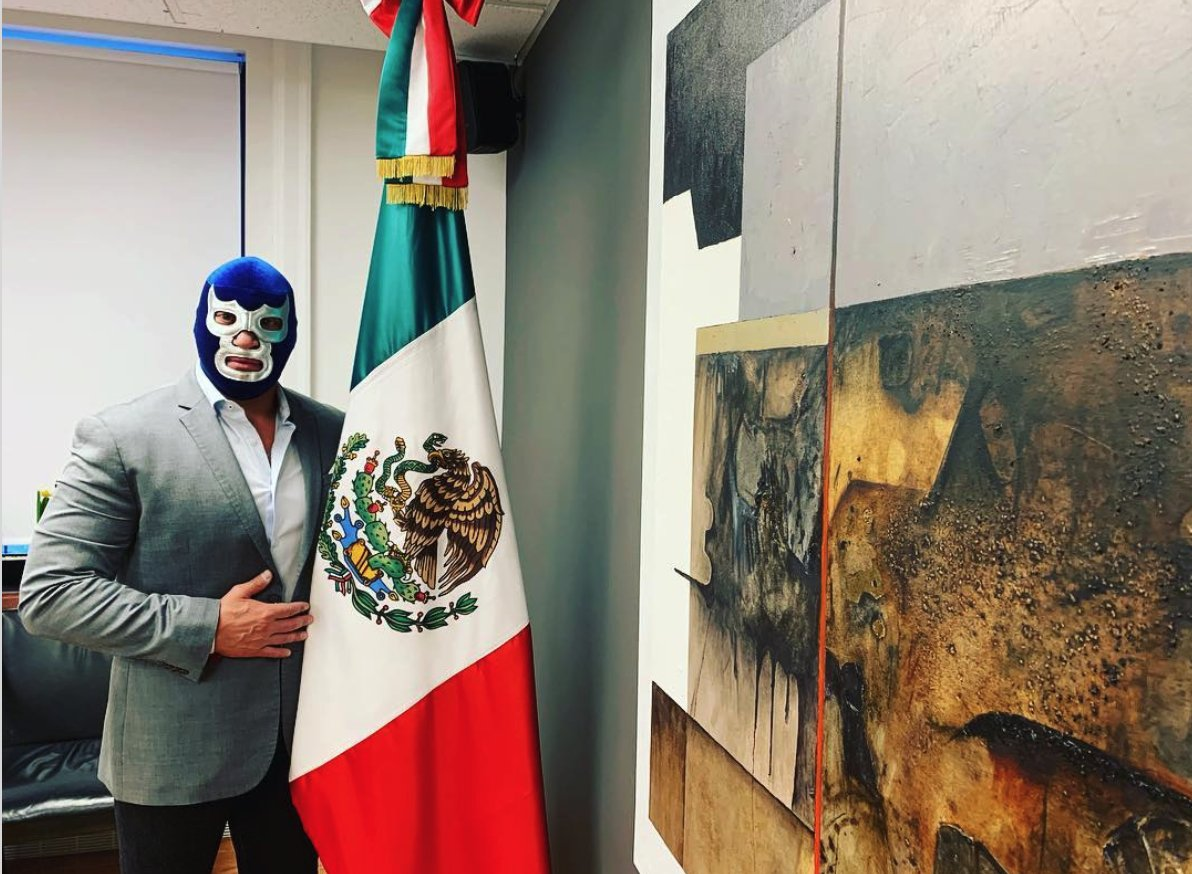 Politics may be about to get a bit rougher in Mexico City. On January 15, three masked wrestlers, or luchadores, announced that they are planning to run for local office in the nation's capital. @ngjanowitz reports for @VICEWorldNews