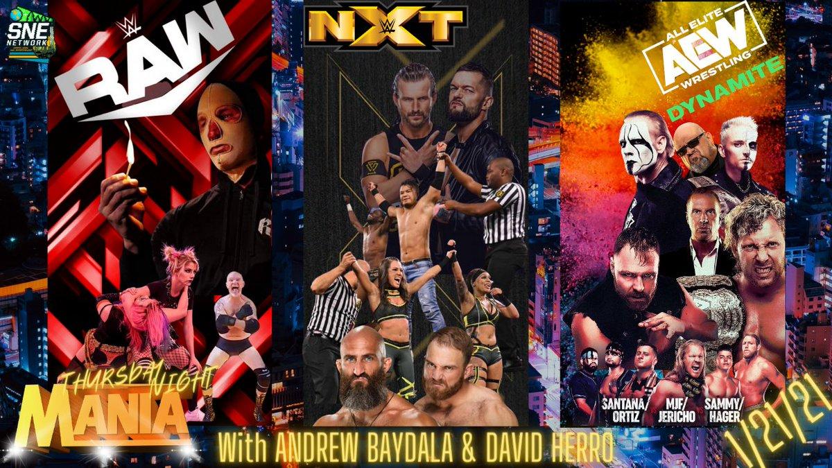 Last Night @AndrewBaydala & @DavidHerro talked all things #WWE, #AEW, #Undertaker, #Sting, #RoyalRumble, #WWENXT, @AlexaBliss_WWE , @RandyOrton, @WWEKarrionKross & much more! Go watch the replay and let us know, what you think!
