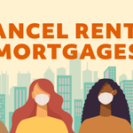 Image for the Tweet beginning: 55% of renter households with