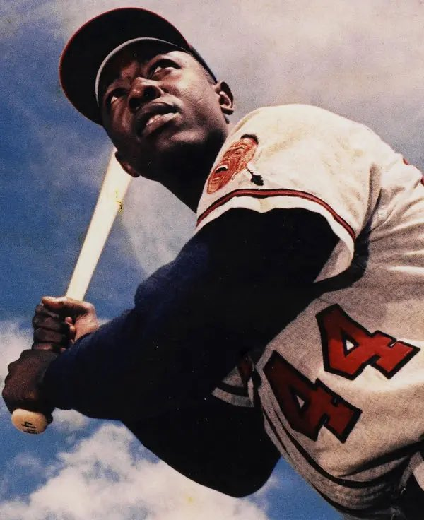 You were more than an athlete.   Your leadership transcended sports.  And we are grateful for your courage and commitment to the freedom struggle.  Rest in power, #HankAaron.  We are praying for the Aaron family.
