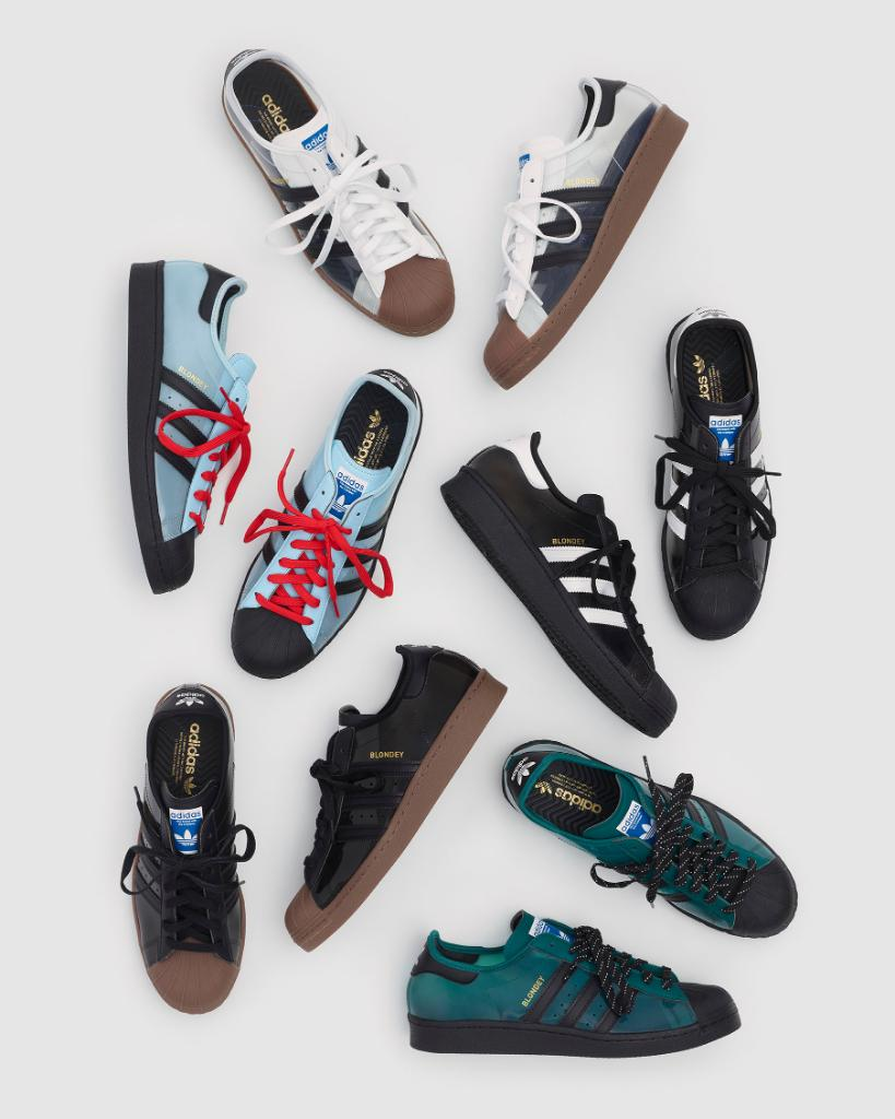 """""""The Superstar—of all adidas shoes—is, I think, the one that has been reinterpreted and re-appropriated the most…so much so that to me, it has come to represent the notion of re-appropriation itself."""" The Black @blondeymccoy Superstar drops January 30 on adidas.com/blondey"""