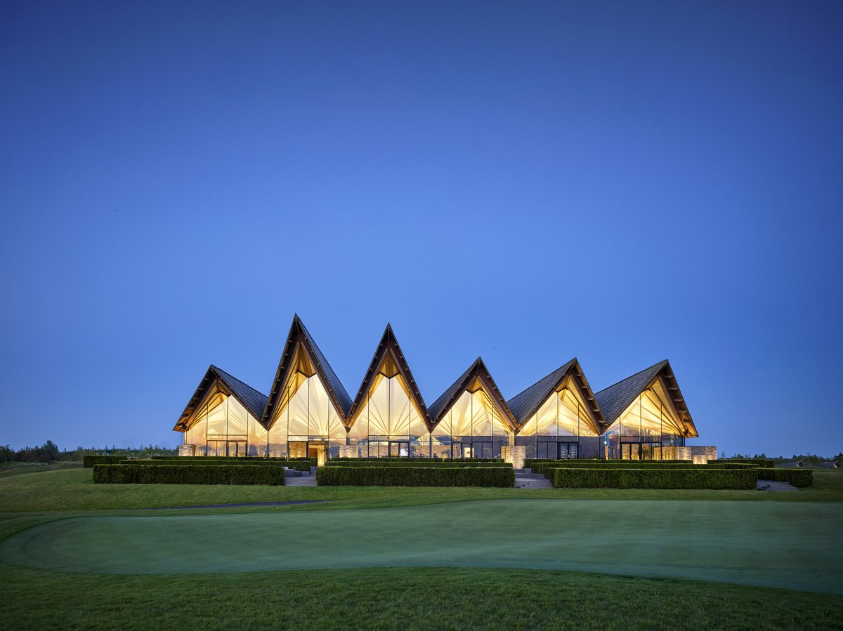 Architecture: Great Northern Club##house & Hotel / E+N Arkitektur: The new golf course, Great Northern, is situated in the #city of Kerteminde between the rolling countryside of the northeastern part of the Danish island, Funen. The…  - Real Estate -