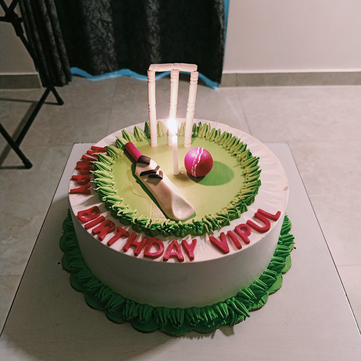 Celebrated my birthday and #teamIndia victory combined! #INDvsAUS