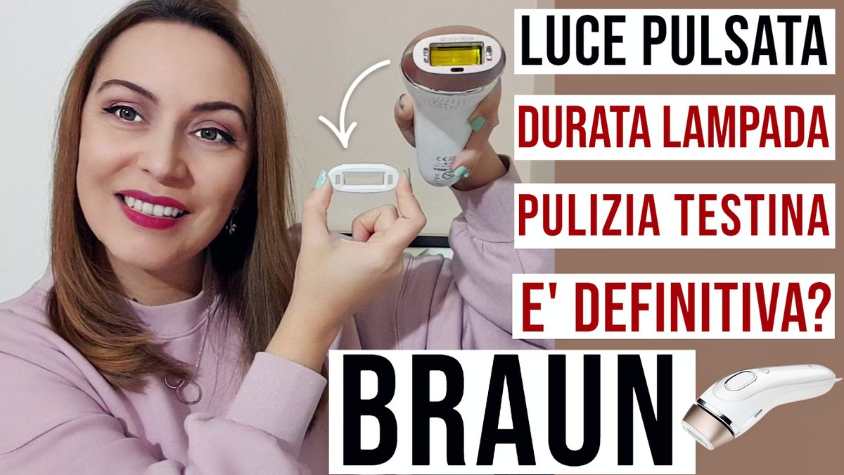 Hi guys new video is online! Braun permanent hair removal IPL at home, head cleaning, lamp life and my experience after 5 years of treatment, have a look:  #braun #hairremoval #beauty #blogger #bloggers #discover