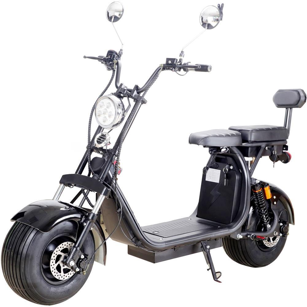 MotoTec Knockout 60v 2000w Lithium Electric Scooter Black selling at $1,579.00 🤯 by ShopUSADeals ⏩  🚀 Selling out fast! 🚀#TBT #weekendvibes #Deals
