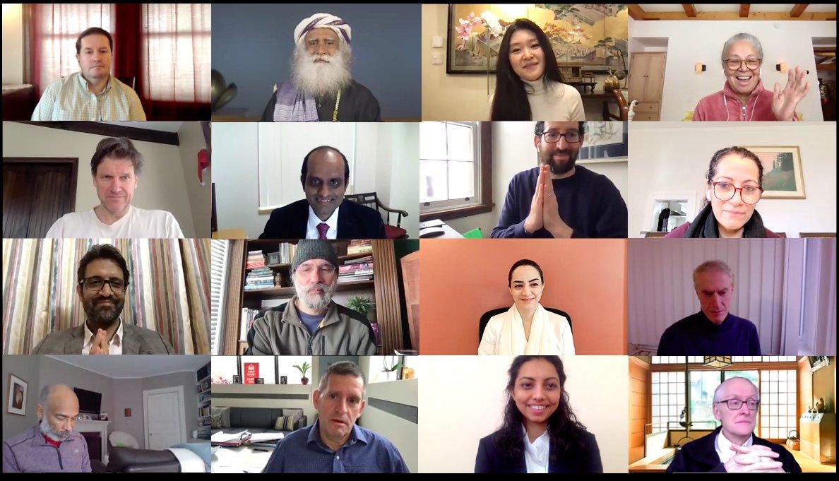 The Sadhguru Center for a Conscious Planet @BIDMCAnesthesia kicks-off 1st Scientific Advisory Board Mtg. with powerful vision & distinguished experts @sadhgurujv @simoncrobson @akshayanandPhD @DrNEO @DrStevenLaureys @KanandSunny @dave_vago @ramiburstein @shahlasi @balachundhar