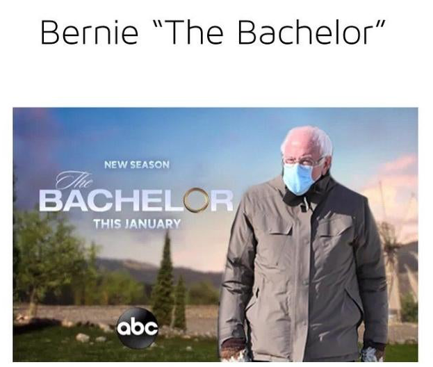 I think it would be awesome if they DID ACTUALLY DO a Bachelor-for-Seniors season! I know Bernie is married but.... he'd be such a smokin' hot catch! #bernieforbachelor #BernieSanders #BernieSandersMittens #FeelTheBern #bachelorabc #BachelorNation #BacheloretteABC