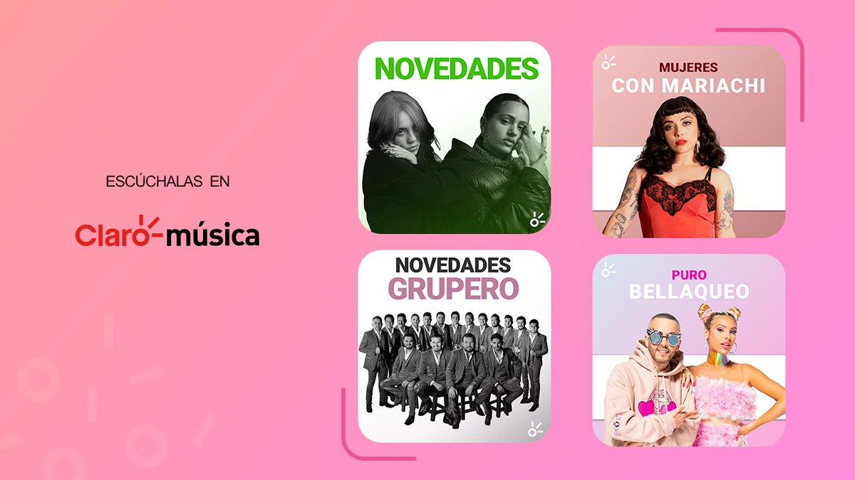 ¡El fin de semana perfecto te espera con esta música nueva! ▶️ Escucha nuestras Playlists. 👇  Novedades:  Mujeres con Mariachi:  Novedades Grupero:  Puro Bellaqueo: