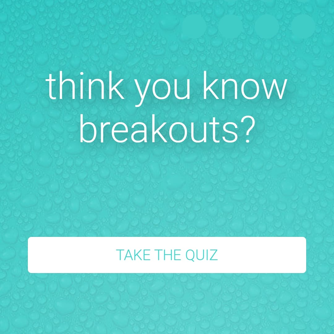 Think you know breakouts? Take the quiz via our Instagram story! ✨    #quiz #dermalogica #FridayFeeling #weekend #skincare #chester #cheshire #wrexham #northwales