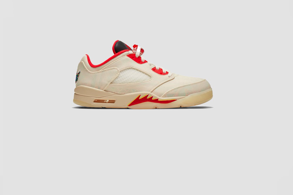 Men's Nike Air Jordan 5 Retro Low #CNY available tomorrow exclusively from our Cutler Bay location $215 USD
