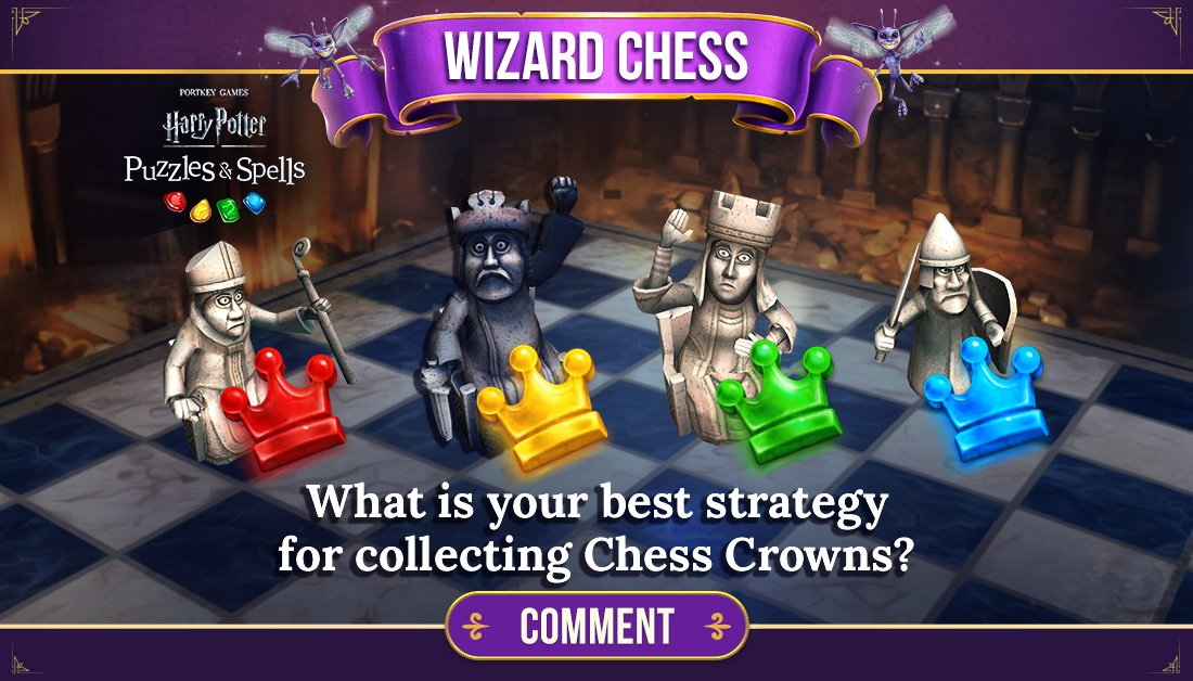 Chess puzzles are first encountered at puzzle 486. Thankfully they are not as brutal as real Wizard Chess! How have you managed to move the chess pieces along their path effectively?  Use Power-Ups to complete puzzles NOW ➡️   #PuzzlesAndSpells #WizardChess