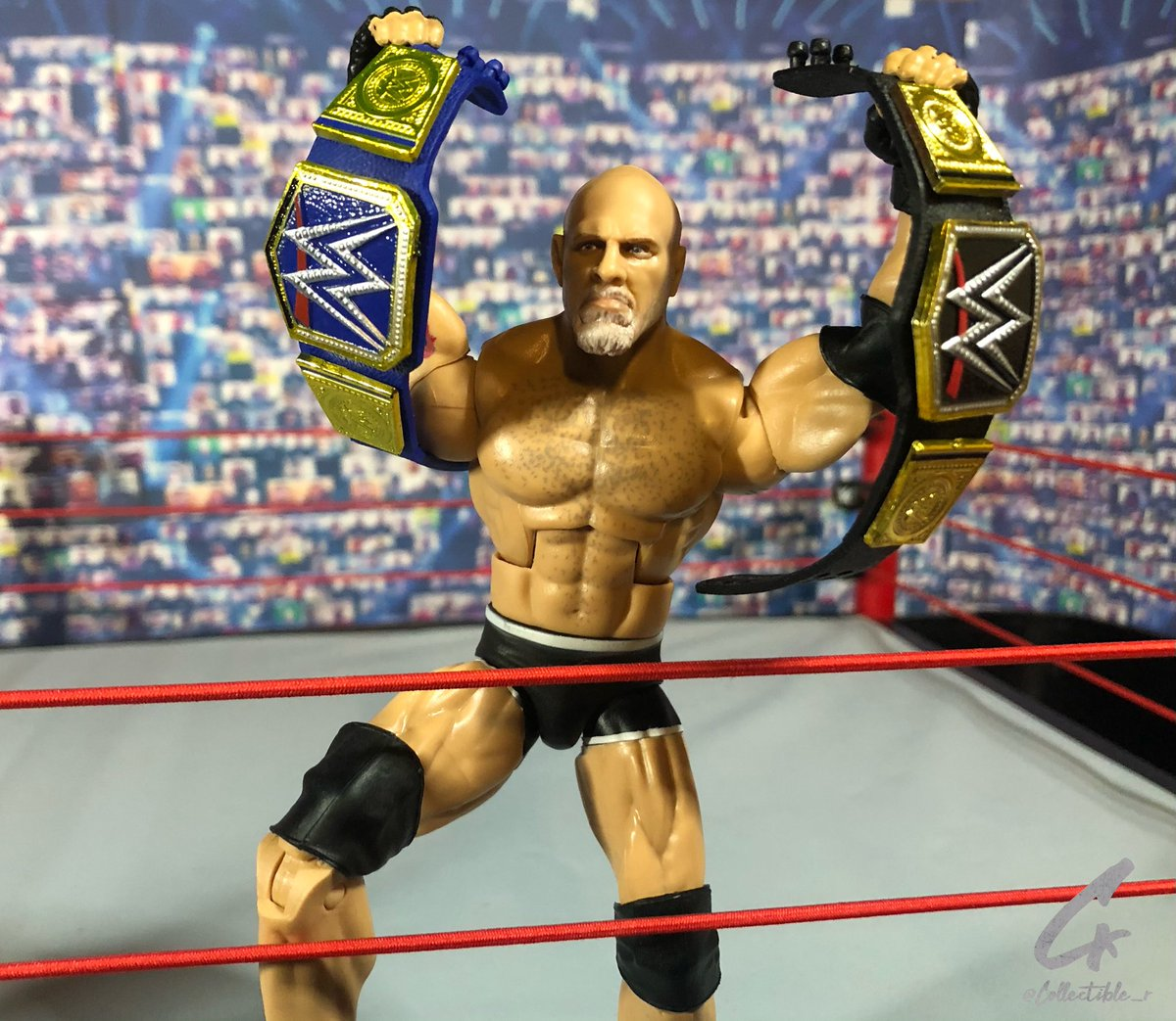 GOLDBERG @Goldberg #Goldberg #WCW #WWE #WWERaw #Legend @Mattel #WrestleMania