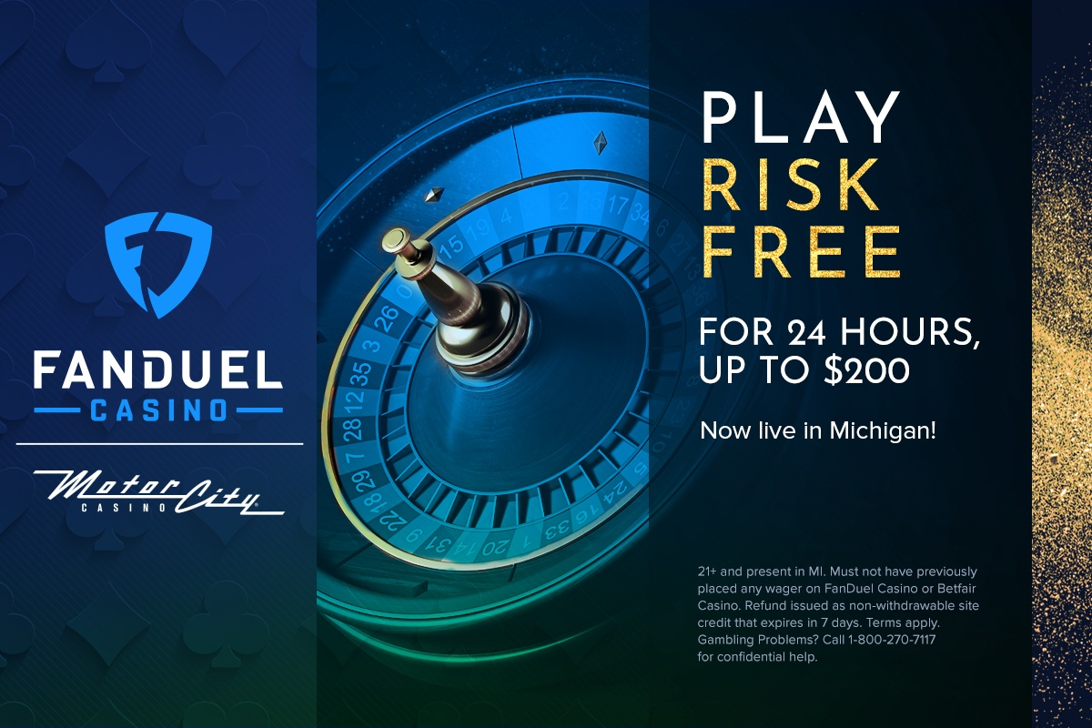 ...Let the (online) games BEGIN! 🙌 @FanDuel Casino is now ONLINE in Michigan! New users can try out the site risk free up to $200.  Simply sign up for your account, make a deposit and play whatever casino games you like online.  More info here: