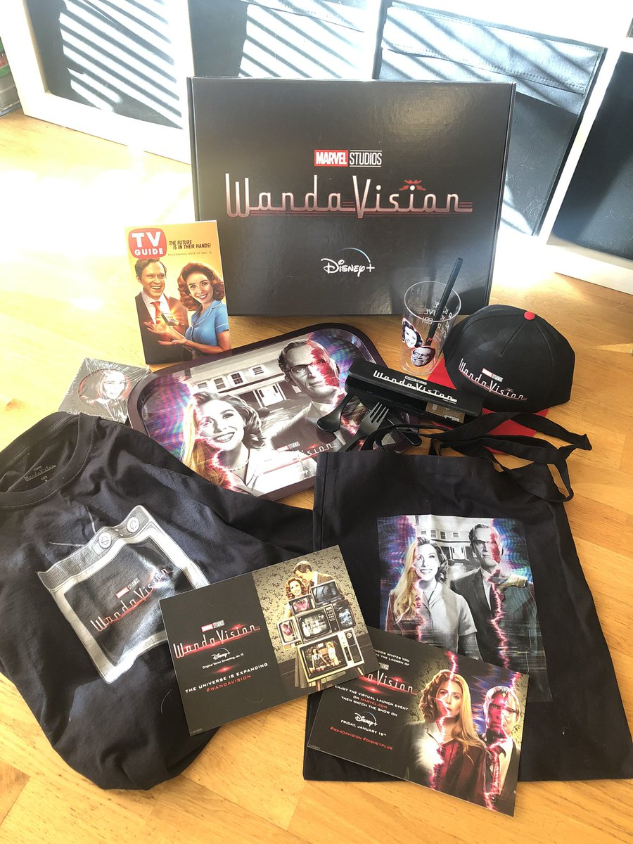 It's #WANDAVISIONday! So I'm settling down for a TV dinner, thanks to these goodies #gifted by @DisneyPlusUK - now, where did I put that lobster... #DisneyPlus