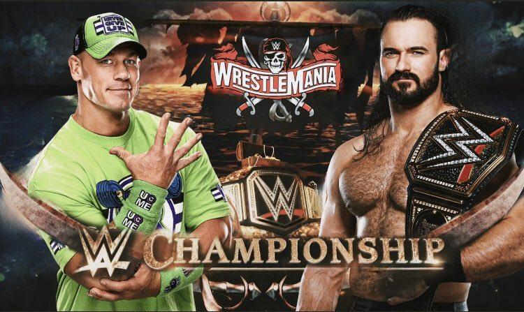 RT @BonafideHeat: Do you want to see John Cena vs Drew McIntyre at Wrestlemania? https://t.co/5qdJsPRRw2