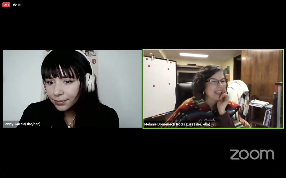 🔴LIVE:  Join Jenny and Melanie from @1NLPA for our UndocuHealth break down the results gathered from the mental health survey we conducted last year and talk about moving forward to this year's survey.