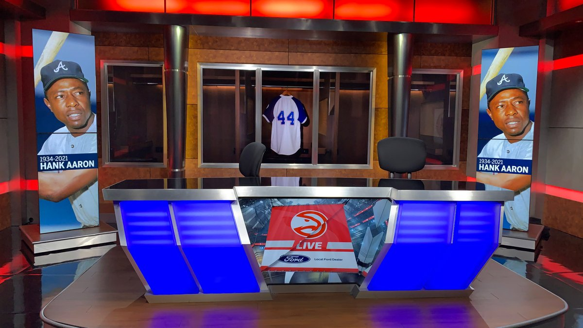 Our @ATLHawks LIVE set tonight 🙏