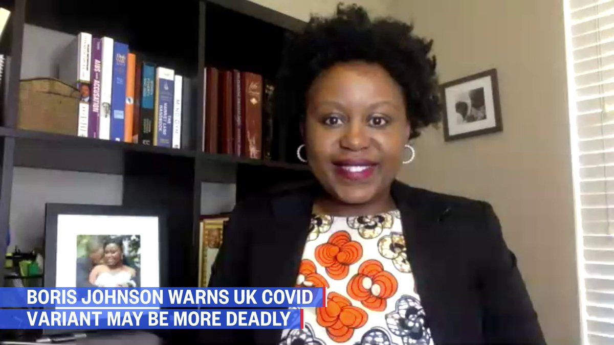 """Boris Johnson warns U.K. Covid-19 variant may be more deadly.  @MatiH_ID: """"Until we know more, I think it's important for the public to stay calm… still social distance, still wear a mask…""""   #FactsOverFear  Watch NOW:"""