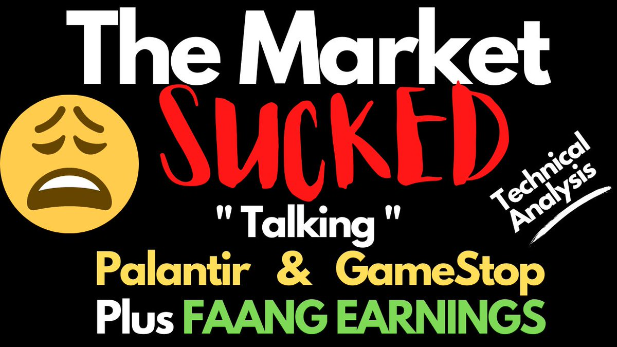Faang stock earnings preview, plus $PLTR & $GME pos stock. https://t.co/Zuphj0WWpY  $AMZN $FB $GOOGL $AAPL $MSFT $TSLR $NIO $ARKK $NFLX https://t.co/2quRQRXPYl
