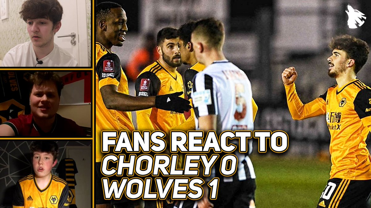FANS REACT: Chorley 0-1 Wolves  The Wolves fans give us their thoughts after tonight's FA Cup victory.    #WWFC | #EmiratesFACup