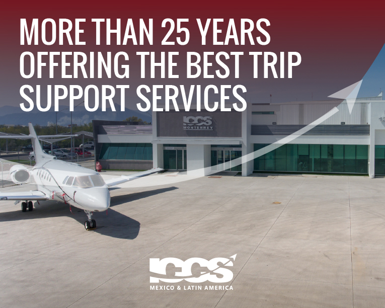 This 2021 we add one more year of service. This has been possible thanks to our team and clients who trust us.  #ICCS #TripSupport #Aviation #PrivateAviation