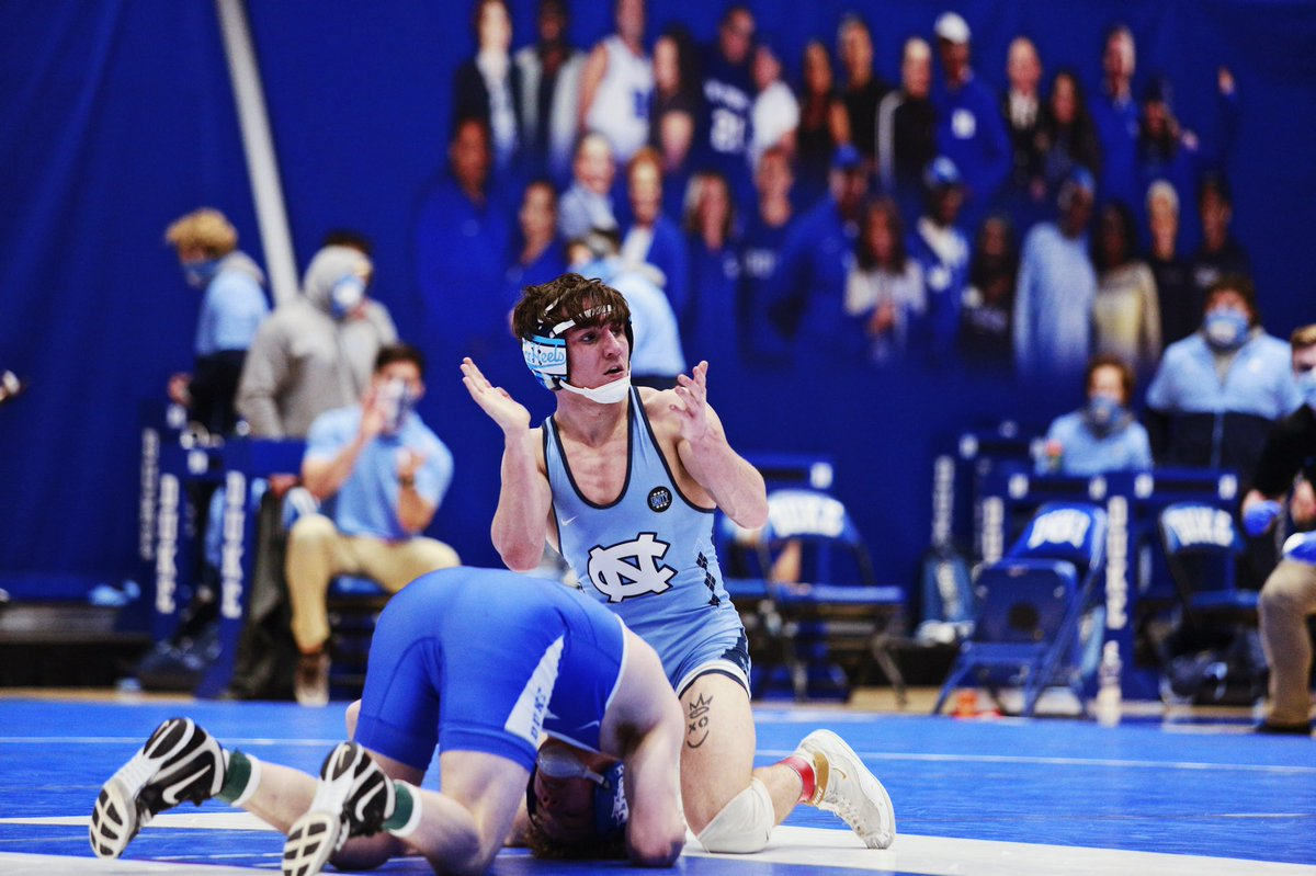 Timothy Decatur picks up the win here in Durham.   #GoHeels | #WeWantMore
