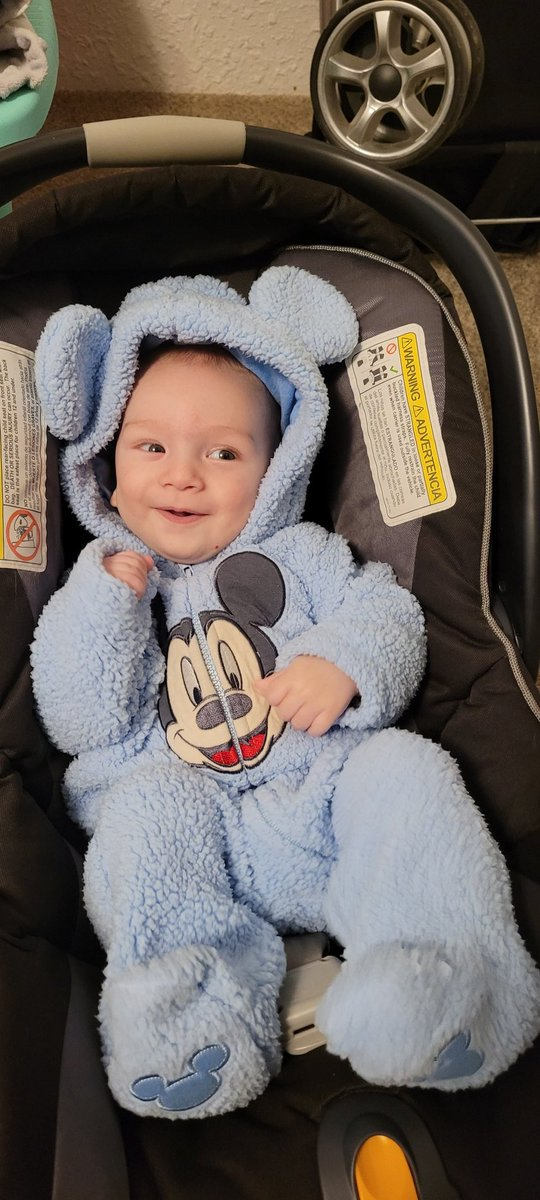 My son LOVES his @Disney  bunting 💖 he's so happy and such a blessing to be able to watch grow up and learn new things each and every day. Also you better believe we are taking him to @Disneyland once he's older 💖 #disney #baby #cute