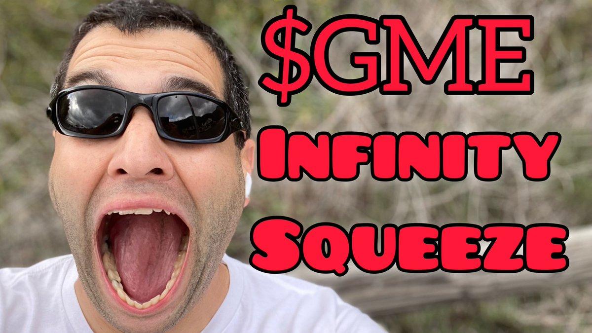 INSANE $GME MOASS Infinity Squeeze: GameStop Stock Recap 1-22-21  WATCH: https://t.co/AMmvIlv0ut https://t.co/nCLlceFE8l