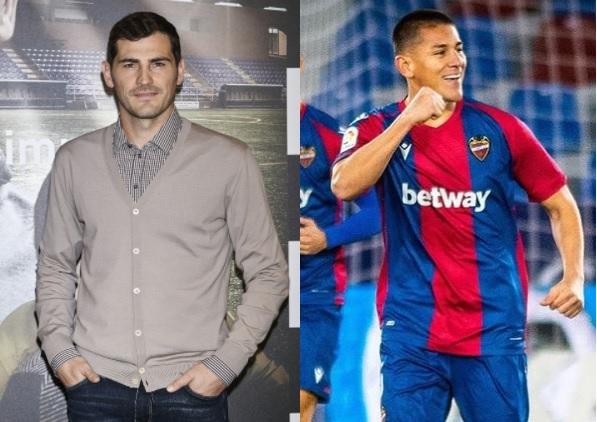 #IkerCasillas elige a #ÓscarDuarte en su equipo ideal para la fecha en España: