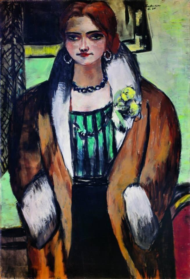 "#Pintura #Arte #Paints #Art #Paintings #Pintores #Cultura #Culture #TwitterWorld #SaberYGanar #Artistas #Artists #ArtistOnTwitter #ArtLovers #FelizFinde #HappyWeekend #FelizSábadoATodos #HappySaturday #ArteYArt #ArtCollector #BuenosDíasATodos ""Retrato de Naila"" 1934 Max Beckmann"