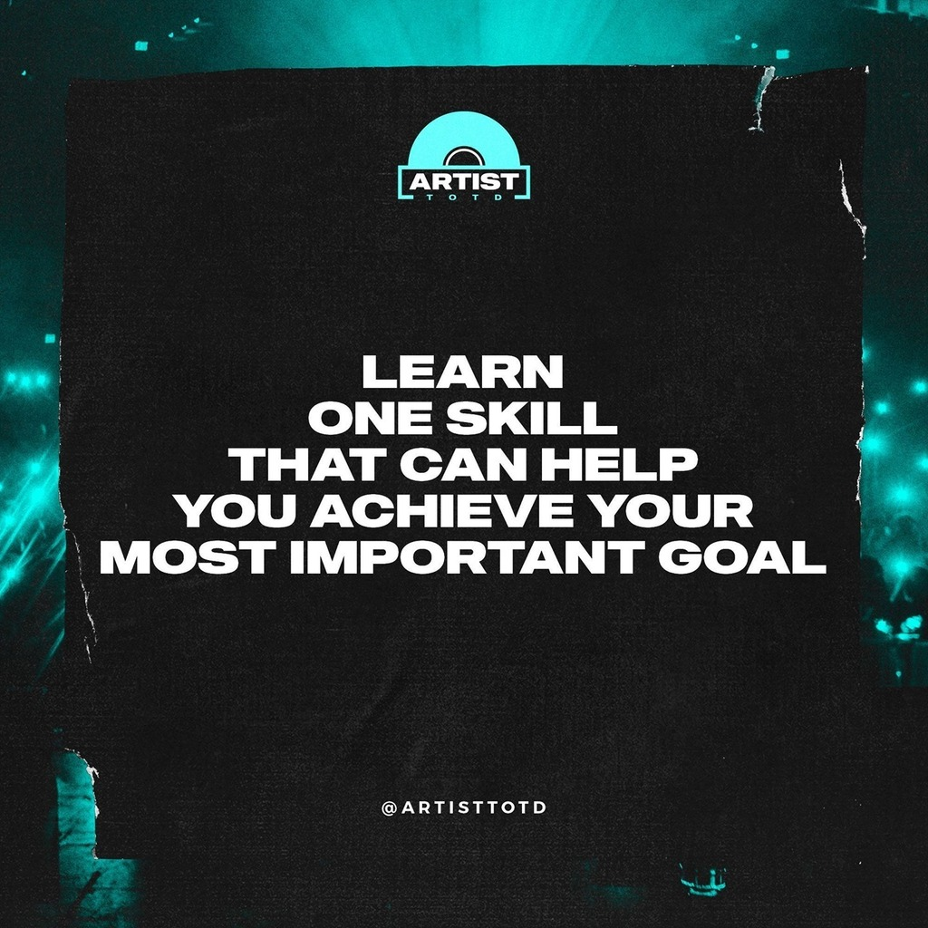Focus on learning one skill that can help you achieve your most important goal.⠀  •⠀ •⠀ •⠀ #motivation #fitness #love #inspiration #photooftheday #instagood #lifestyle #travel #happy #life #art #picoftheday #goals #entrepreneur