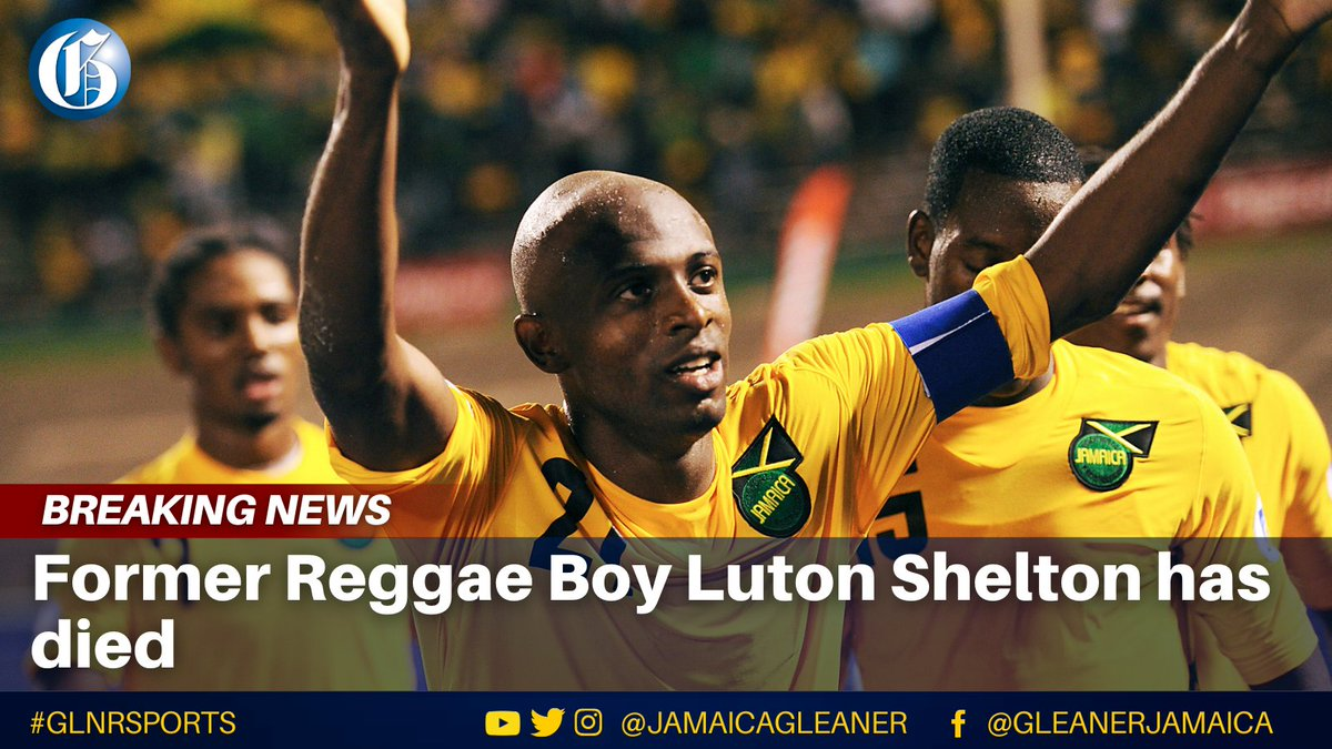 Former Reggae Boy Luton Shelton has died. Shelton previously held the national goalscoring record with 35 goals. Since 2017, he had suffered from Amyotrophic Lateral Sclerosis, a motor neuron disease. He was 35 years old. More details soon.