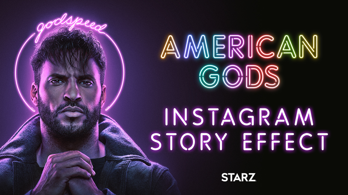 Are you more goddamned, god's gift, god bless, or godspeed? Use the new #AmericanGods Instagram effect and don't forget to tag so we can add you to our Story!