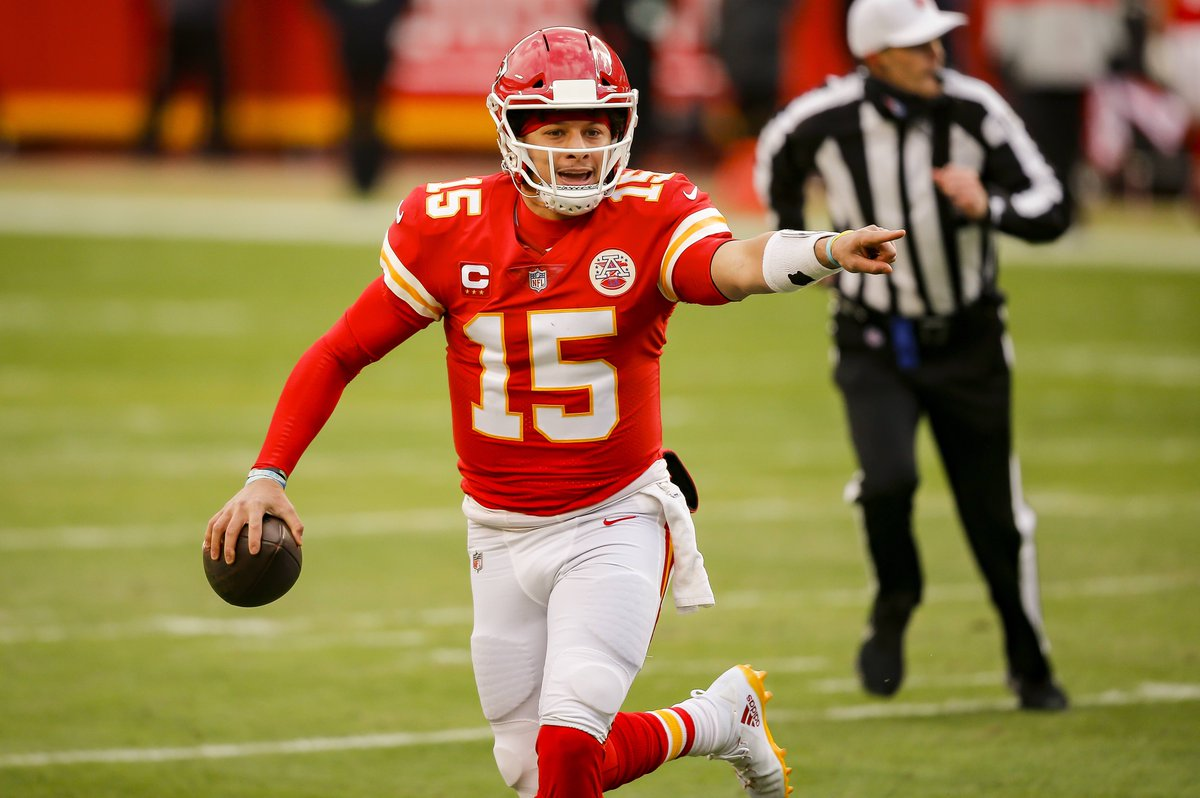 Patrick Mahomes says he's cleared concussion protocol  He's ready to play in the AFC title game @brgridiron