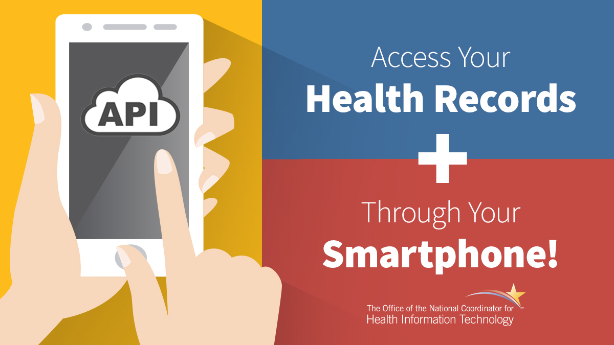 Did you know that you can use your smartphone to access your health records? Learn what #APIs are and how they support #PatientAccess:  #HealthIT