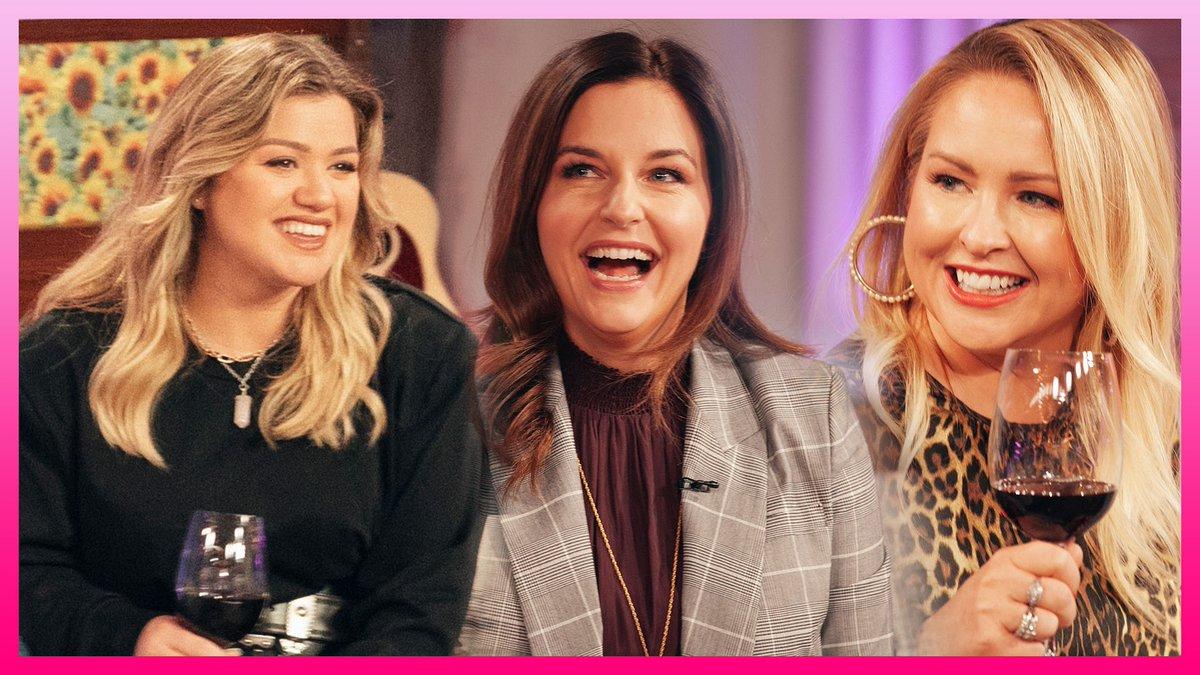 Kelly Clarkson Swaps Relatable Mom Stories With @IMomSoHard Hosts Kristin & Jen  WATCH:   #KellyClarksonShow
