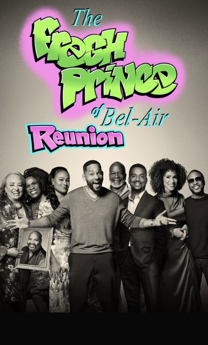 It's a really Good Watch #FreshPrinceReunion #RIPUnclePhil