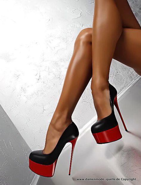 Neuheiten | Plateau Damen High Heel mit Kontrastfarben | Damenmode Günstig Online Kaufen #mode #damenmode #sommermode #fruehling #damenmode2021 #jacken #blazer #freizeitanzug #outfit #hosenanzug #elegant #bequem