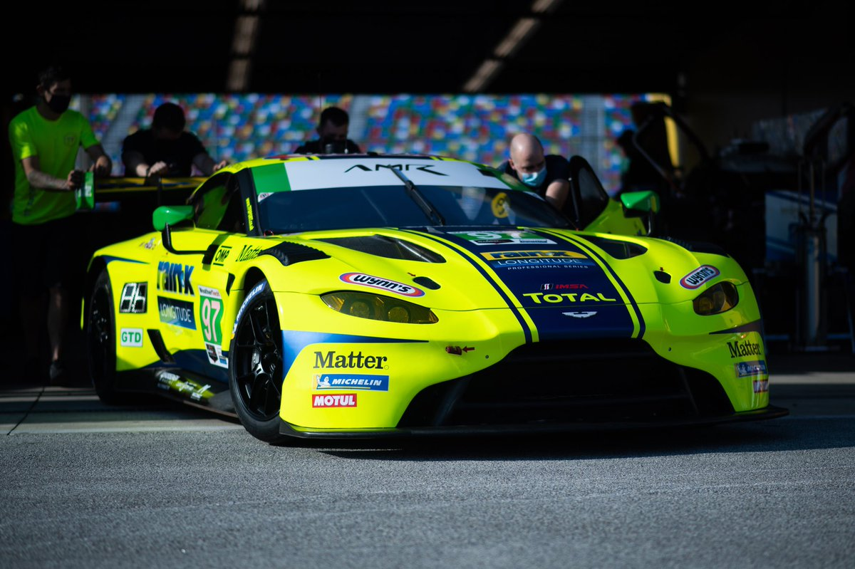 Introducing the @OfficialTFSport #97 Aston Martin Racing Vantage GT3, running in the GTD class of the 2021 @Rolex24Hours.  Drivers: @keatingcarguy  Max Root @ceastwood28  @RWestbrook1   #AstonMartin #Vantage #AMR #Rolex24