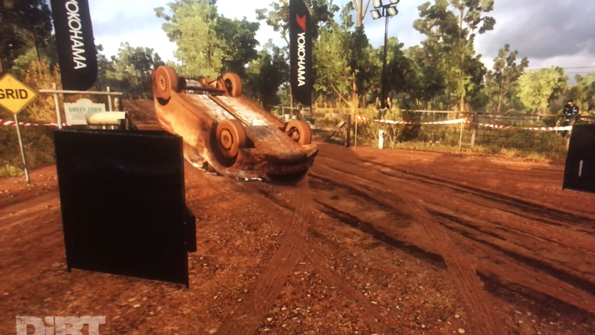 That was almost the best #DiRTRally finish ever... 🙃  🎦 by M3rCH1 on Reddit
