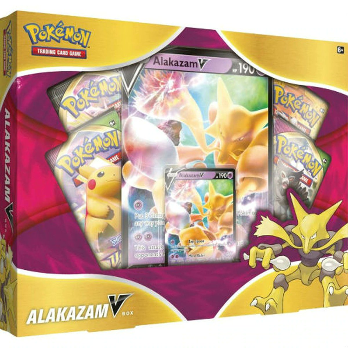 Pokemon - Alakazam V boxes in stock at Target for $19.99  I guess it's a deal, these boxes sell out fast for some reason    #pokemon #pokemontcg #pokemoncards #ptcgo #pokemongo #swsh #vividvoltage #crowntundra #pikachuv #alakazam #nintendo #pokemonsnap #tcg