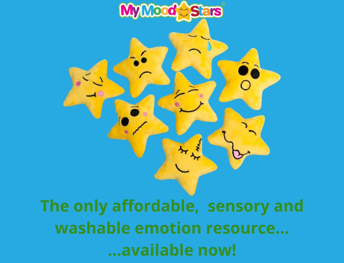 Some very exciting news! Can't reveal until Monday but suffice to say, It's going to be huge for My Mood Stars. A partnership meaning that disadvantaged children,  looked-after children and those that can't attend school will be gifted sets of My Mood Stars ⭐ #MotherOfMoodStars