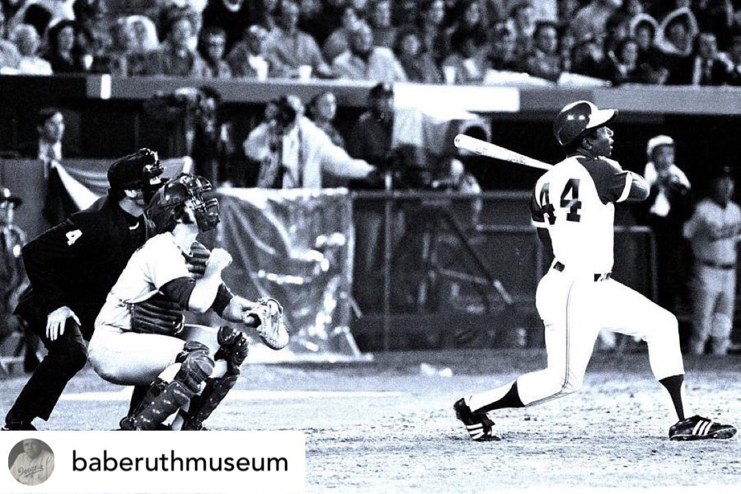 Check out what @baberuthmuseum one of BNHA's partners had to say about the loss and legacy of #HankAaron.   Posted @withregram • @baberuthmuseum Rest In Peace, Hank Aaron. On April 8, 1974 Hank broke Babe's record with 715 home runs.  #homerunking #rip #mlb #baseball