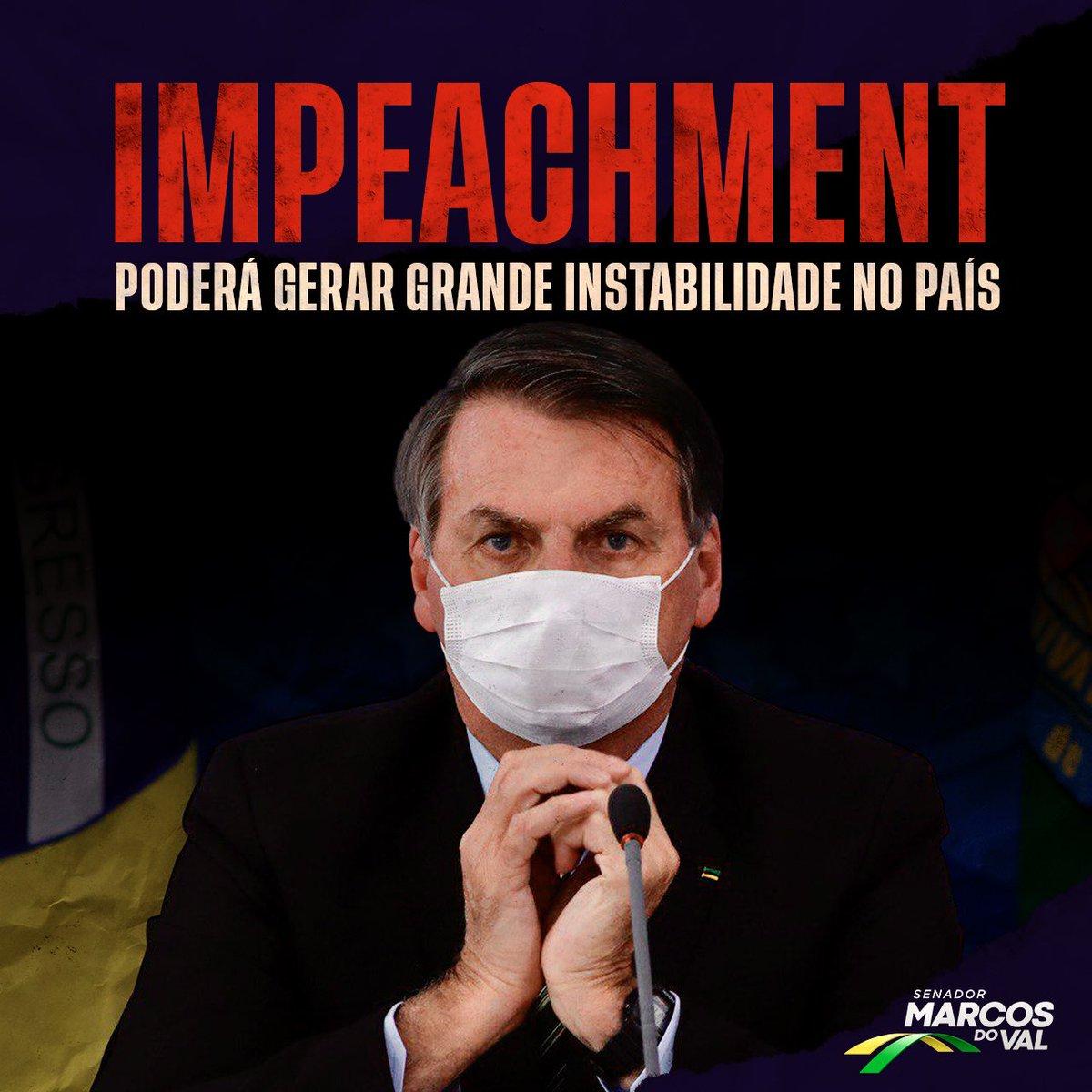 Antes de você aderir a qualquer movimento, pense bem! Caso aceito, o pedido de impeachment do presidente irá gerar uma grande instabilidade para o país, principalmente neste período de pandemia.